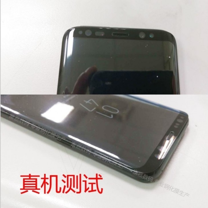4 - Samsung Galaxy S8 & S8+ Live Images Leaked showing off a working device