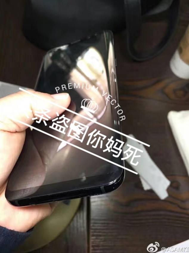 Screen Shot 2017 02 22 at 9.34.19 PM - Samsung Galaxy S8 & S8+ Live Images Leaked showing off a working device