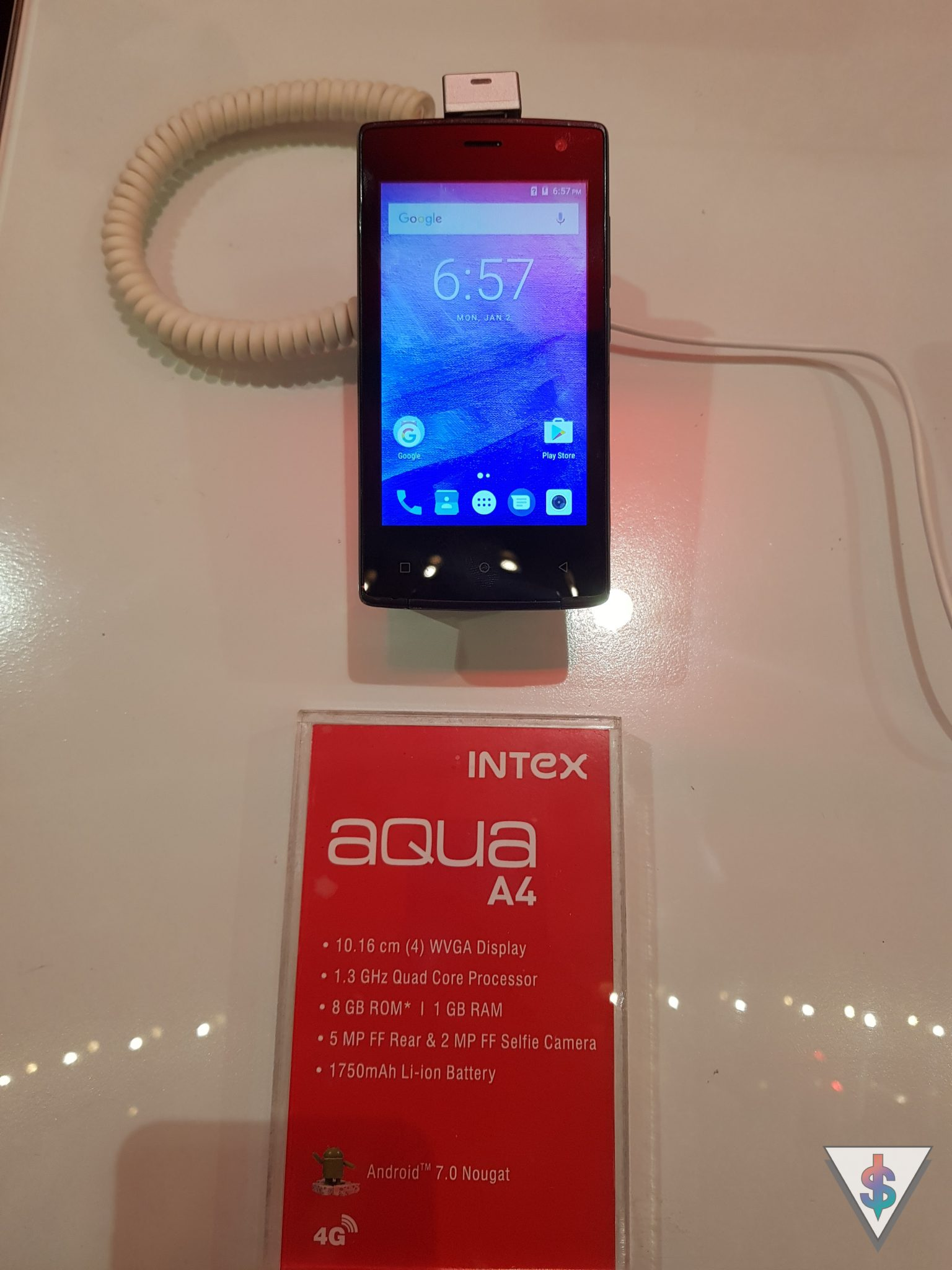 Intex AndroDollar 15 - Intex partners with Softlogic to unveil the Aqua A4, Aqua Lions 4G and more budget oriented devices in Sri Lanka