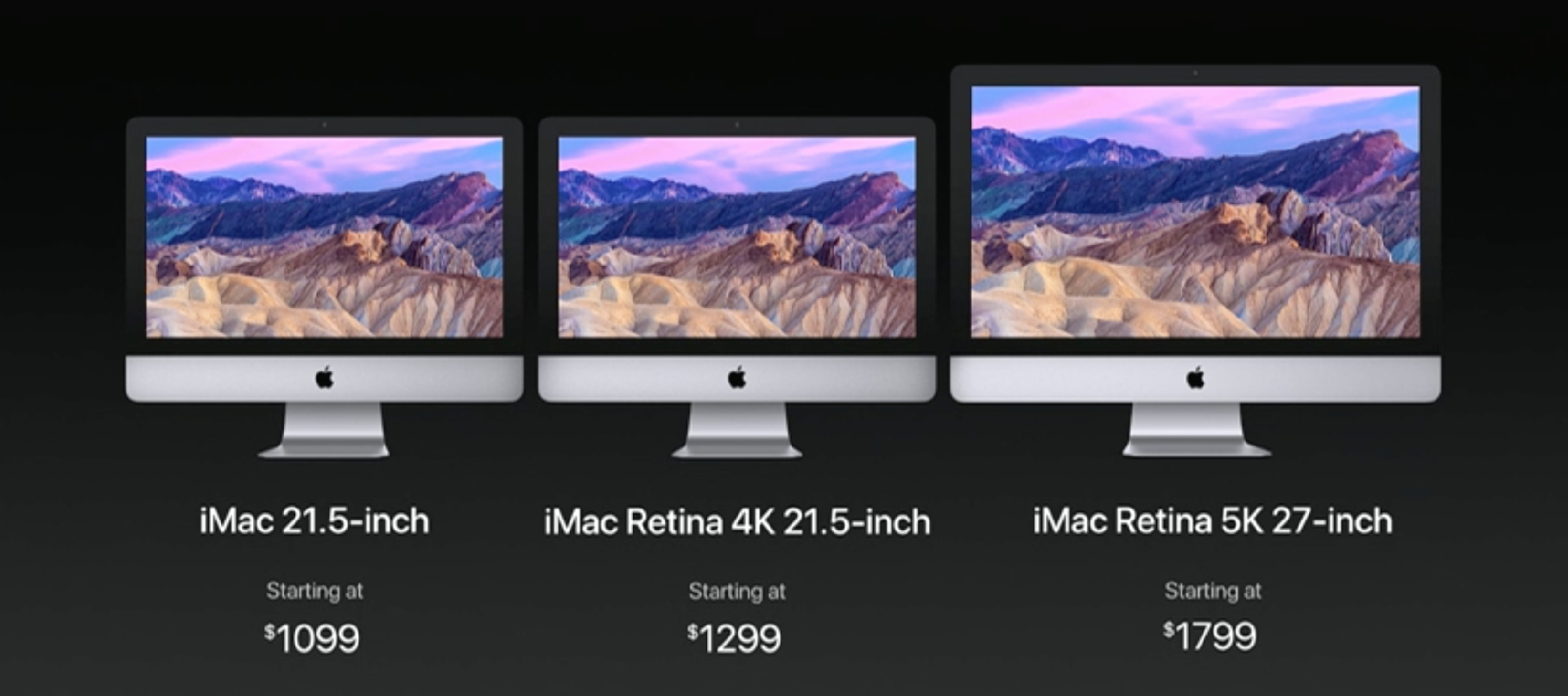 Screen Shot 2017 06 06 at 1.01.53 AM - Apple debuts new iMac Pro while refreshing the MacBooks and iMacs to 7th Generation Kaby Lake processors