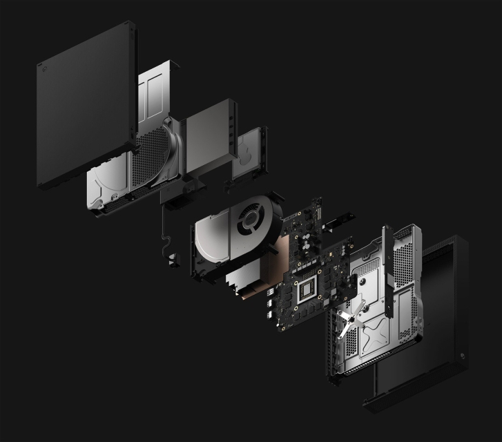 dims - Microsoft's Project Scorpio gets unveiled as the Xbox One X and is the most powerful console Ever