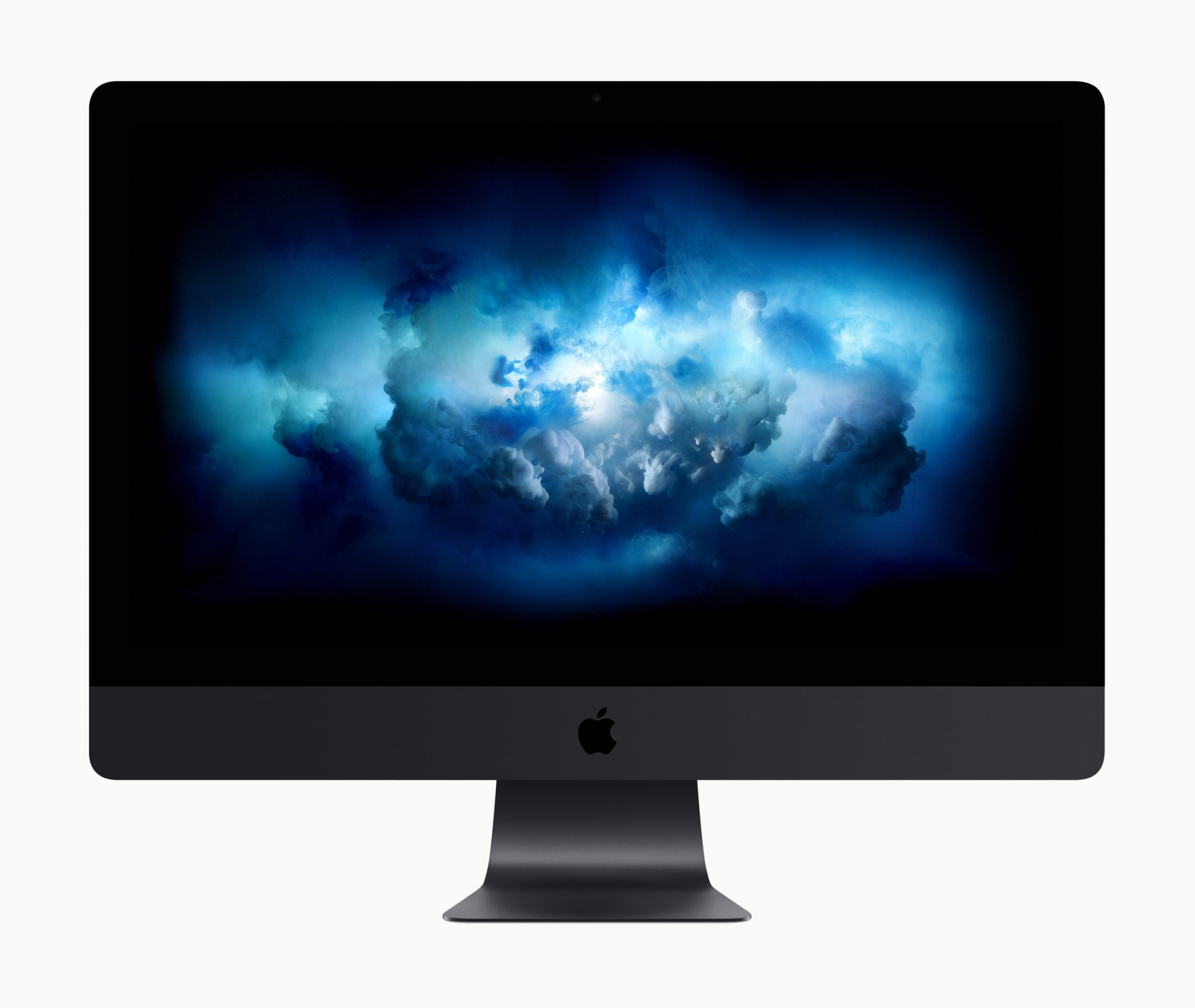 new 2017 imac pro dark grey front - Apple debuts new iMac Pro while refreshing the MacBooks and iMacs to 7th Generation Kaby Lake processors