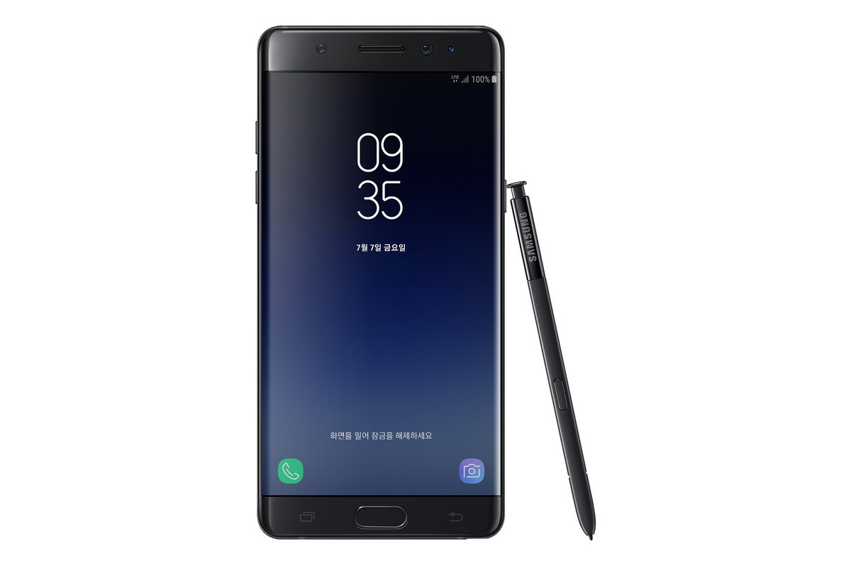 galaxy note fan edition 2 - Note 7 is BACK - Samsung unveils a special Fan Edition of the Galaxy Note 7; Available on July 7th
