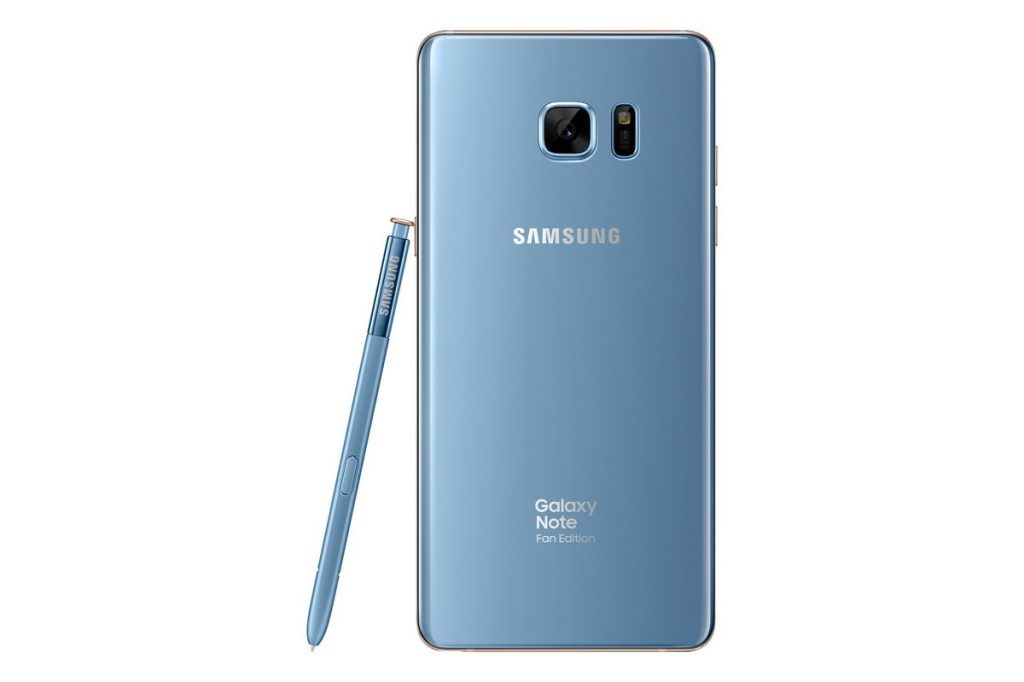 galaxy note fan edition 4 1024x682 - Note 7 is BACK - Samsung unveils a special Fan Edition of the Galaxy Note 7; Available on July 7th