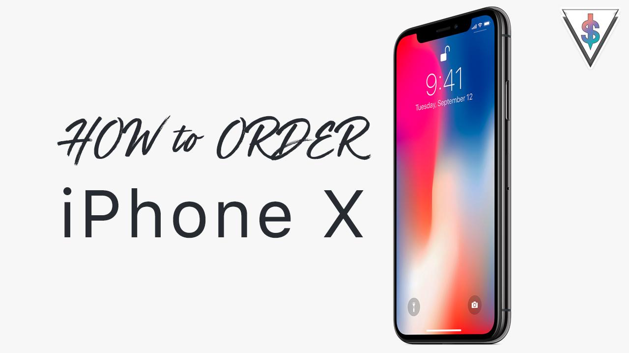 order iPhone x