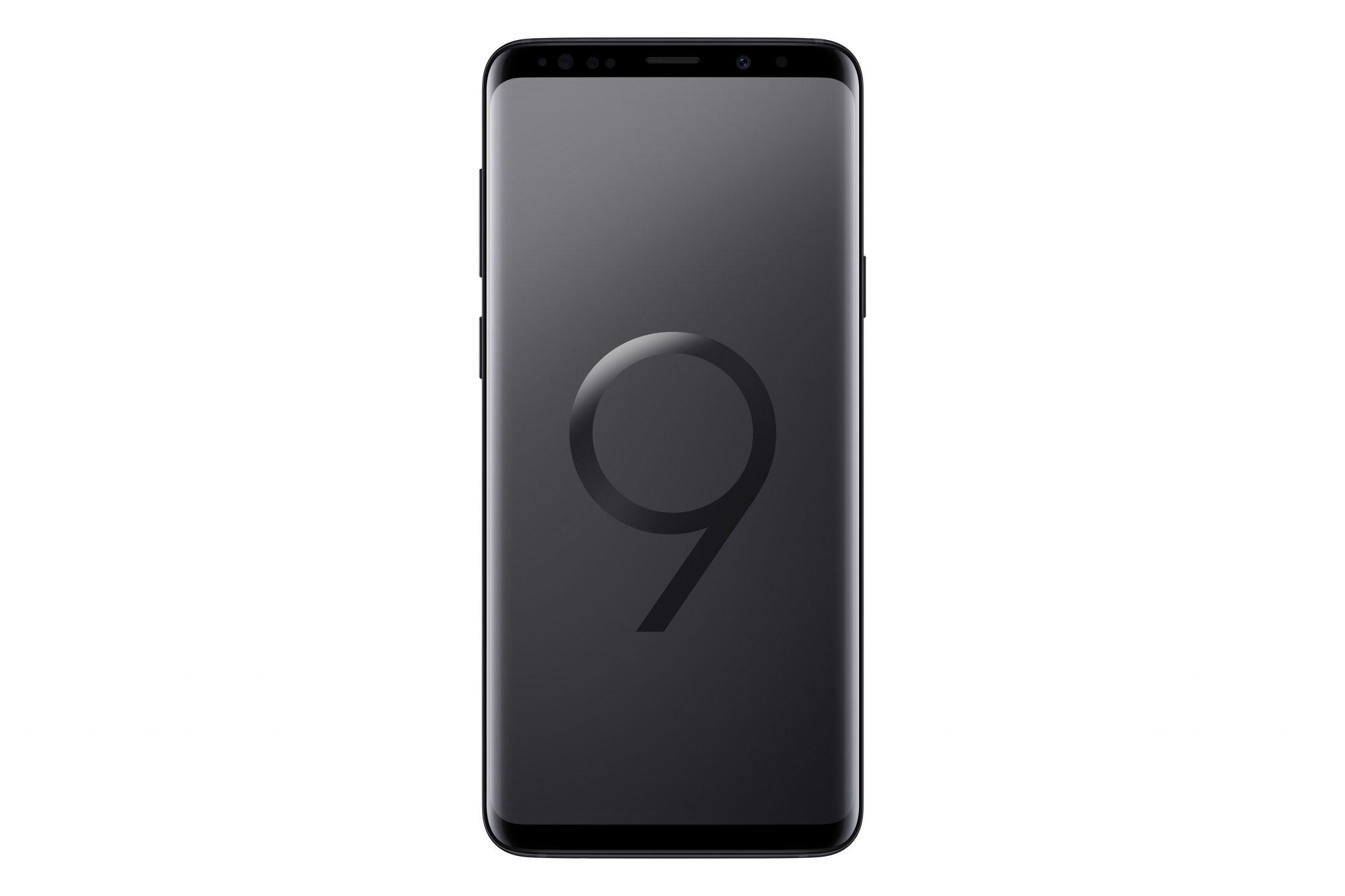 SM G965 GalaxyS9Plus Front Black 1 - SM_G965_GalaxyS9Plus_Front_Black
