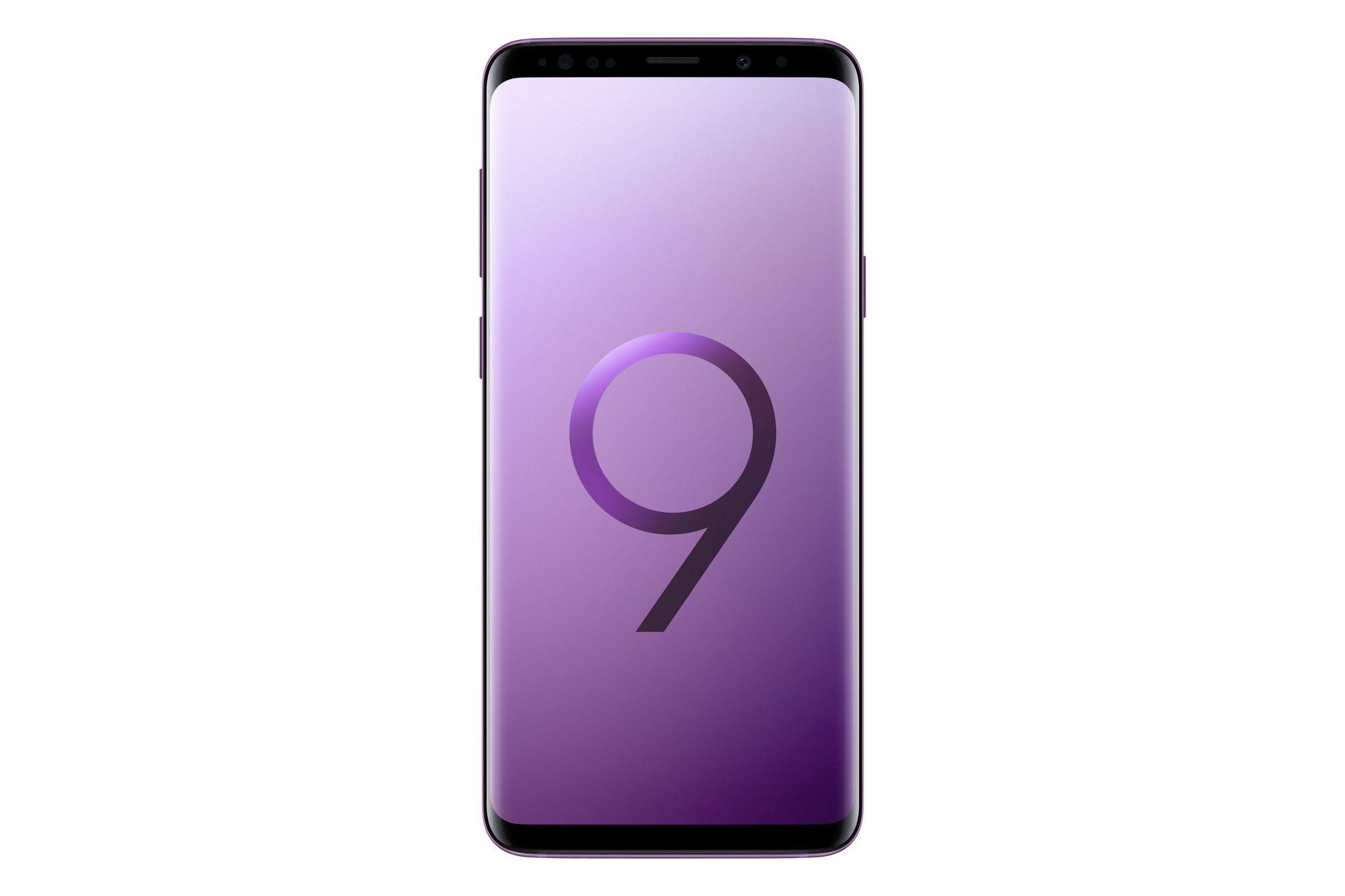 SM G965 GalaxyS9Plus Front Purple 1 - SM_G965_GalaxyS9Plus_Front_Purple