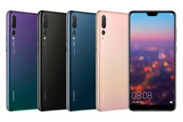 18032701 360x240 - Huawei unveils the Huawei P20 Pro rocking a notch and a 40MP Triple camera setup along with the P20