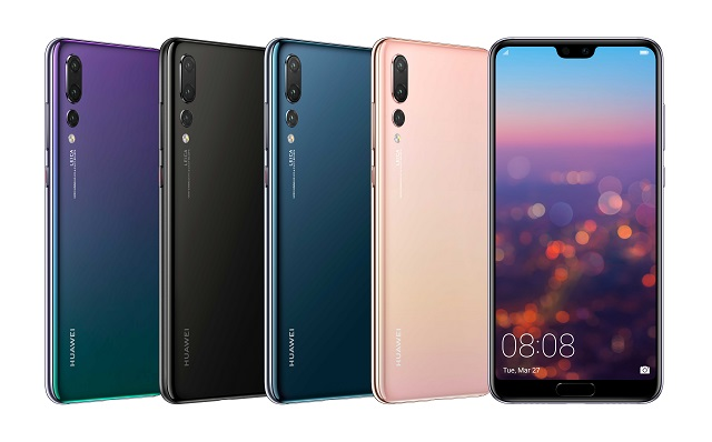 18032701 - Huawei unveils the Huawei P20 Pro rocking a notch and a 40MP Triple camera setup along with the P20