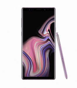 Galaxy Note9 Lavender Purple 1 263x300 - Samsung unveils the Galaxy Note 9 with a completely redesigned S-pen, massive battery and superb performance