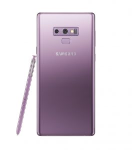 Galaxy Note9 Lavender Purple 2 263x300 - Samsung unveils the Galaxy Note 9 with a completely redesigned S-pen, massive battery and superb performance