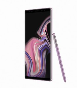 Galaxy Note9 Lavender Purple 3 263x300 - Samsung unveils the Galaxy Note 9 with a completely redesigned S-pen, massive battery and superb performance