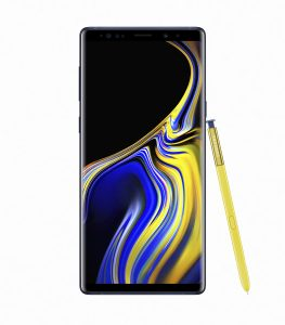 Galaxy Note9 Ocean Blue 1 263x300 - Samsung unveils the Galaxy Note 9 with a completely redesigned S-pen, massive battery and superb performance