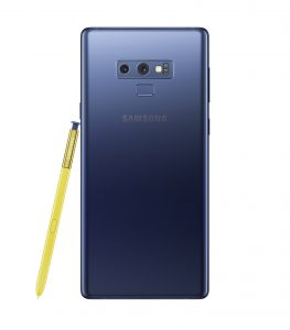 Galaxy Note9 Ocean Blue 2 263x300 - Samsung unveils the Galaxy Note 9 with a completely redesigned S-pen, massive battery and superb performance