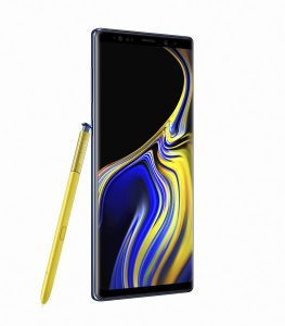 Galaxy Note9 Ocean Blue 3 263x300 - Samsung unveils the Galaxy Note 9 with a completely redesigned S-pen, massive battery and superb performance