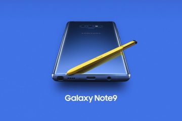 Samsung Galaxy Note 9 Official 13 360x240 - Samsung unveils the Galaxy Note 9 with a completely redesigned S-pen, massive battery and superb performance