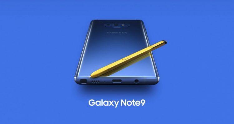 Samsung Galaxy Note 9 Official 13 750x400 - Samsung unveils the Galaxy Note 9 with a completely redesigned S-pen, massive battery and superb performance