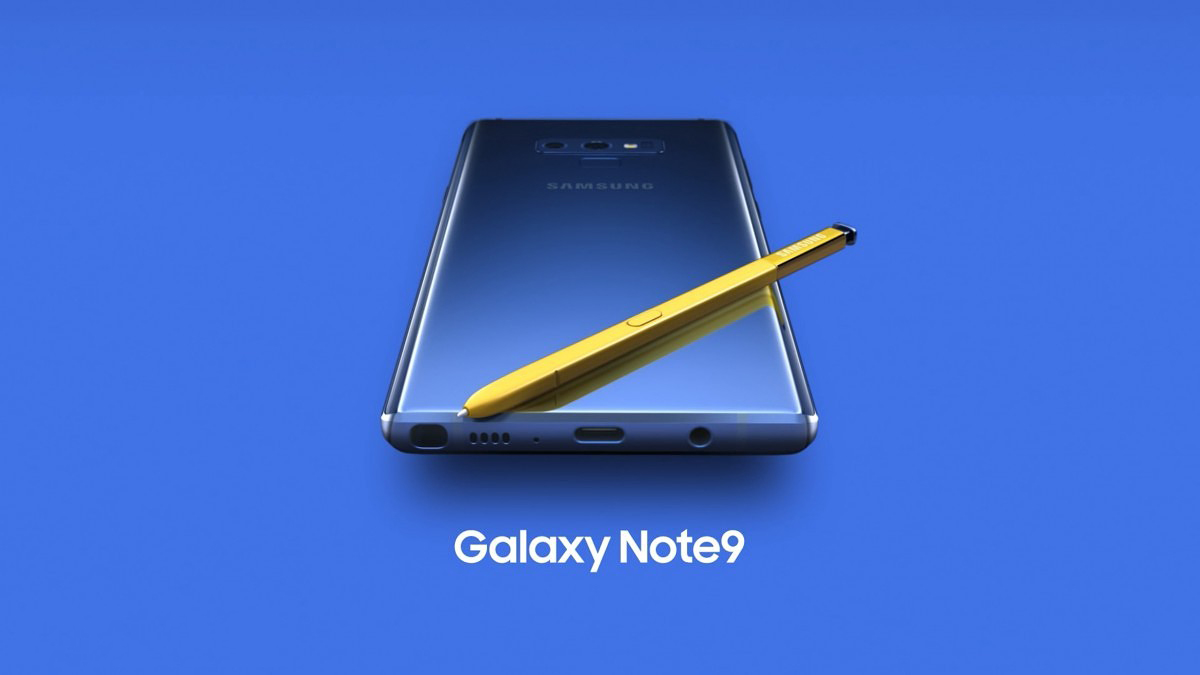 Samsung Galaxy Note 9 Official 13 - Samsung unveils the Galaxy Note 9 with a completely redesigned S-pen, massive battery and superb performance