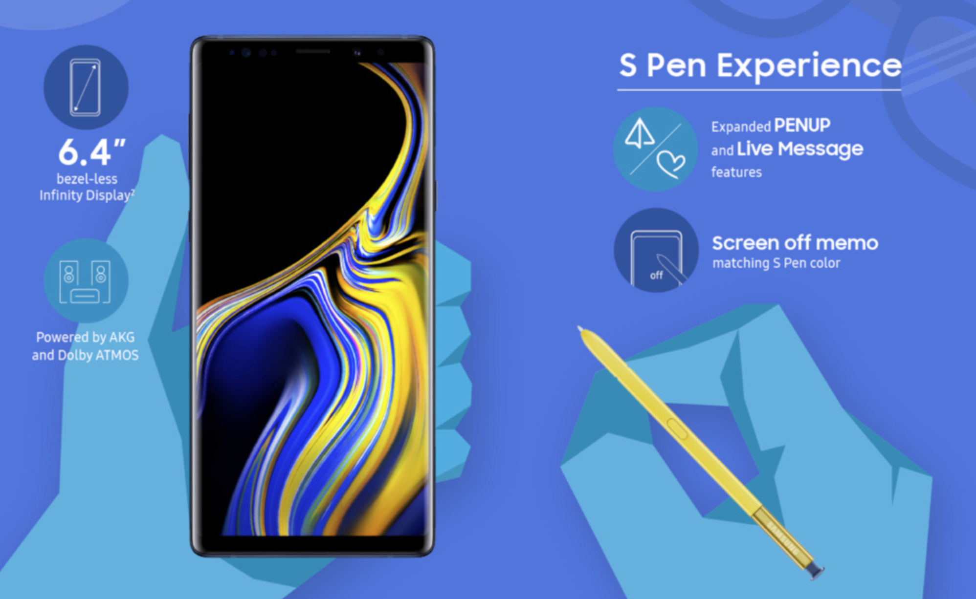 Screen Shot 2018 08 10 at 11.37.37 AM - Samsung unveils the Galaxy Note 9 with a completely redesigned S-pen, massive battery and superb performance