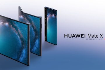 D0LLX5kX4AA1E62 360x240 - Huawei unveils the Huawei Mate X - The world's first 5G Foldable smartphone priced at $2600