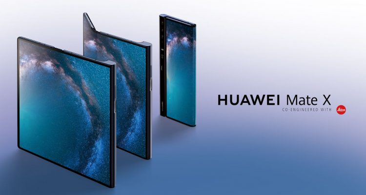 D0LLX5kX4AA1E62 750x400 - Huawei unveils the Huawei Mate X - The world's first 5G Foldable smartphone priced at $2600