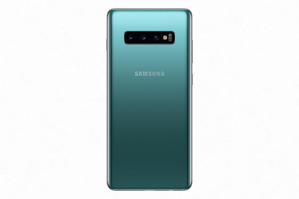 Galaxy S10 Prism Green back1 1024x682 - Samsung unveils the Galaxy S10E, Galaxy S10 and Galaxy S10+ at Unpacked 2019