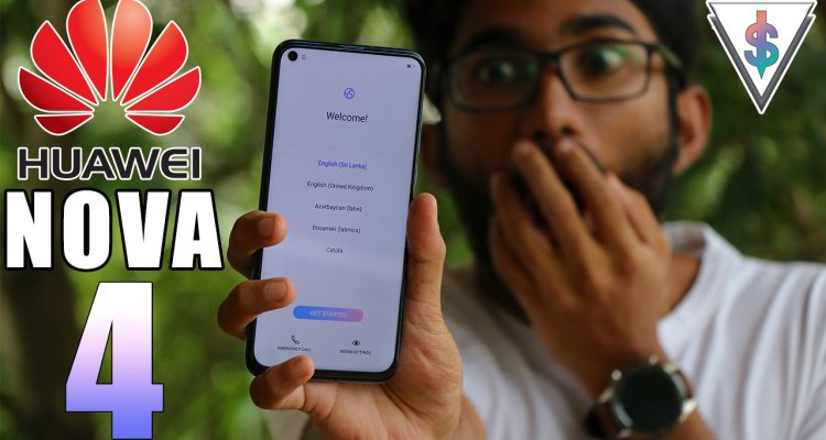 huawei nova 4 unboxing sri lanka 750x400 - First Punchhole Smartphone in Sri Lanka - Huawei Nova 4 Unboxing 🇱🇰