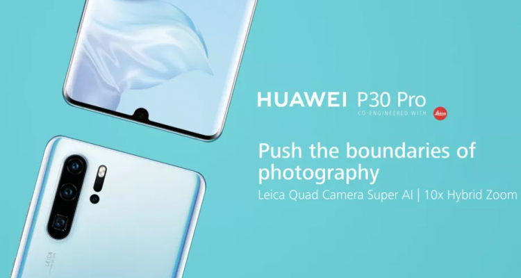 Huawei P30 Pro marketing 920x620 750x400 - Huawei unveils the Huawei P30 and Huawei P30 Pro focusing mainly on the camera