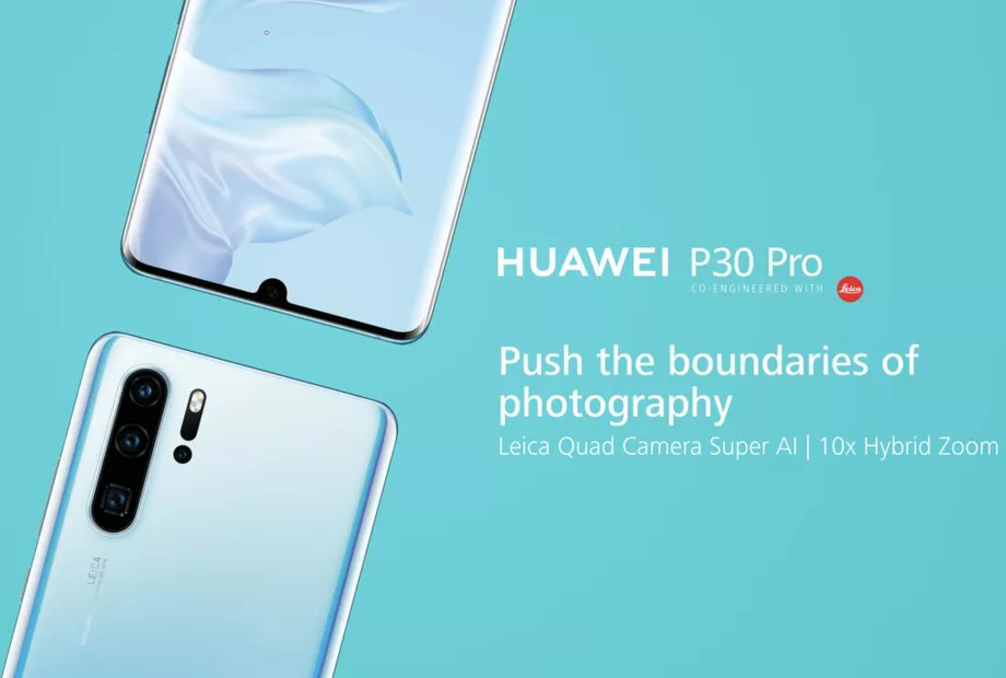 Huawei P30 Pro marketing 920x620 - Huawei unveils the Huawei P30 and Huawei P30 Pro focusing mainly on the camera