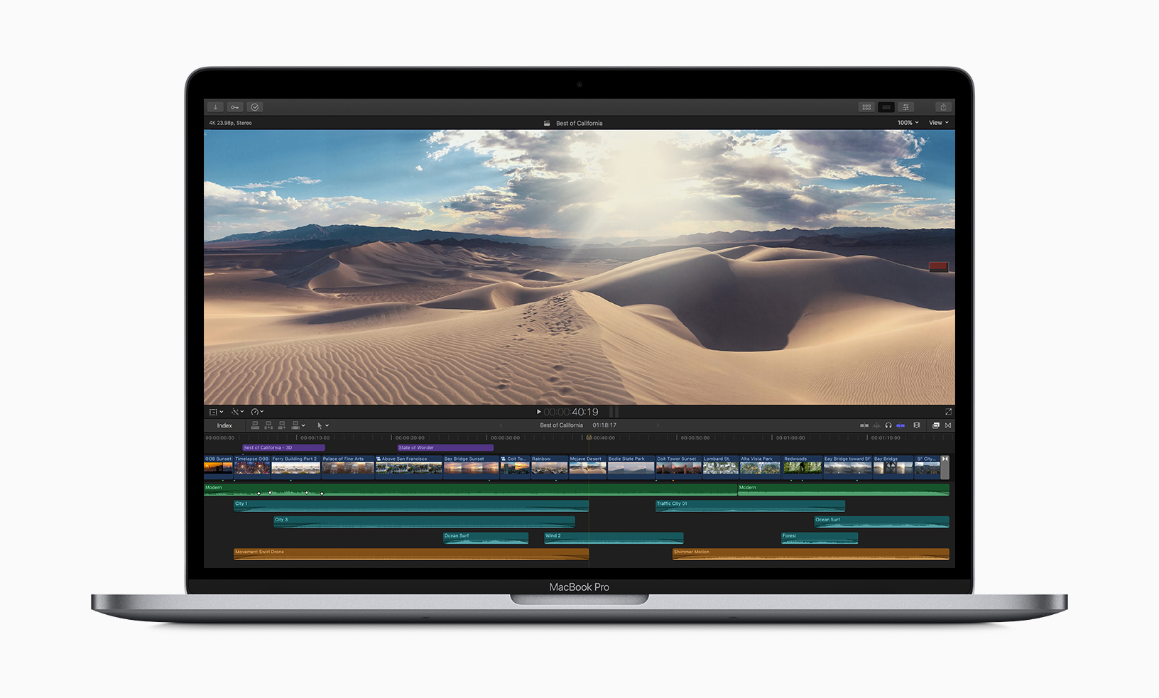 apple macbookpro 8 core video editing 05212019 - Apple Debuts New 8-Core MacBook Pro With Updated Keyboard
