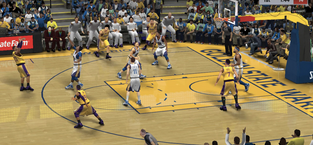 NBA 1 1024x477 - Cool graphically intensive Sports Games to enjoy!