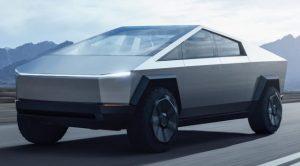 unveils 300x166 - Elon Musk is driving Tesla's CyberTruck prototype around Los Angeles