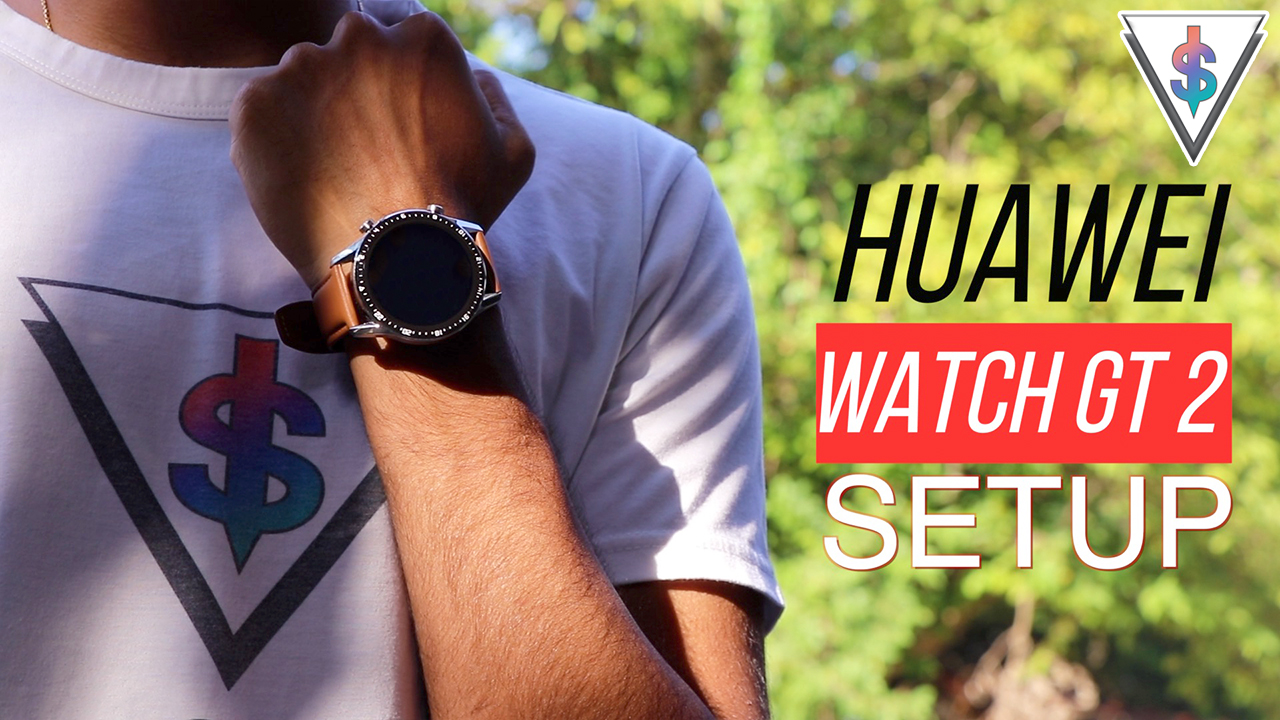 Huawei Watch GT 2 Setup - Huawei Watch GT 2 - Initial Setup using Android and iOS