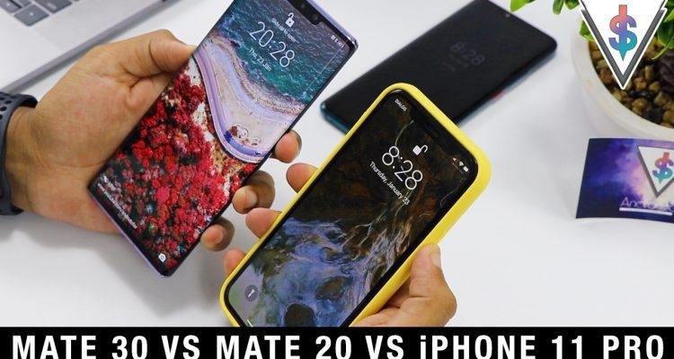 mate 30 vs mate 20 vs iphone 11 pro 750x400 - Huawei Mate 30 Pro vs Huawei Mate 20 Pro vs iPhone 11 Pro - Face Unlock Speed.