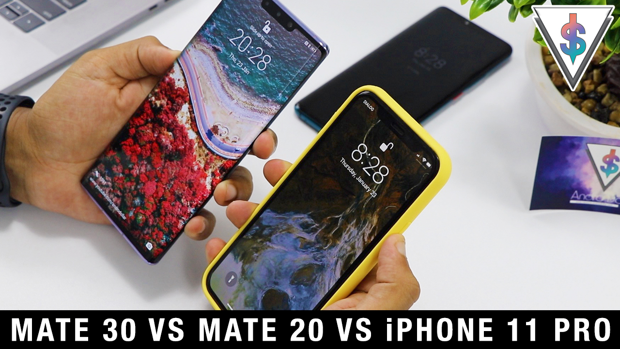 mate 30 vs mate 20 vs iphone 11 pro - Huawei Mate 30 Pro vs Huawei Mate 20 Pro vs iPhone 11 Pro - Face Unlock Speed.