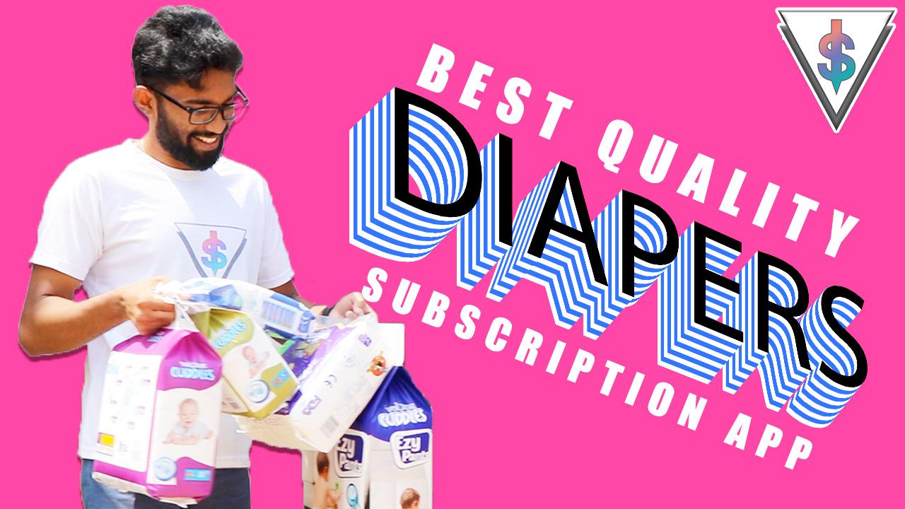 diaper app sri lanka - Velona Cuddles Diaper Subscription App in Sri Lanka