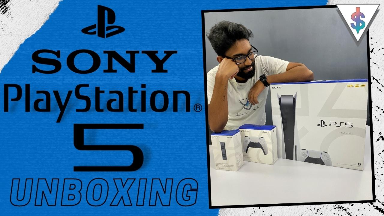 Sony Playstation 5 Unboxing - Sony Playstation 5 Unboxing in Sri Lanka