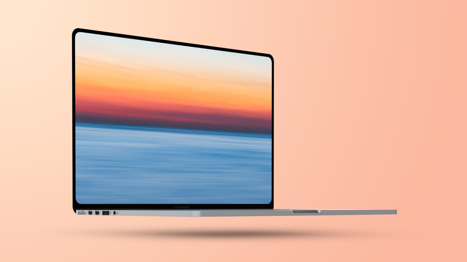Flat 2021 MacBook Pro Mockup Feature 1 - Freshly Redesigned MacBook Pro for 2021 coming as soon as this summer with up to 64GB RAM and 10-core chip