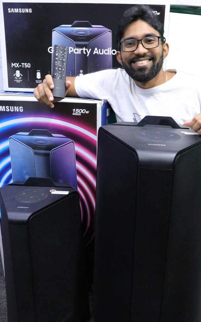 1 639x1024 - My experience with Samsung's new Monster Giga Party Audio speakers in Sri Lanka!